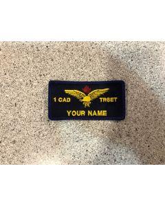 14991 - 1 Canadian Air Division Transport Standards Evaluation Team Nametag (1 CAD TRSET)