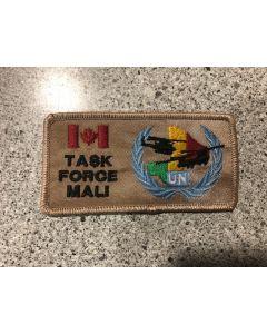 15019 70F- 430 Squadron Task Force Mali Patch