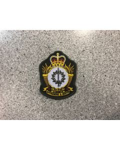 15028 79 A  - Canadian Forces Leadership and Recruit School Coloured LVG Heraldic Crest