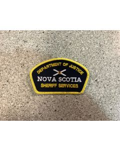 15051 245D - Nova Scotia Department of Justice Sheriff Service patch for TV Serie