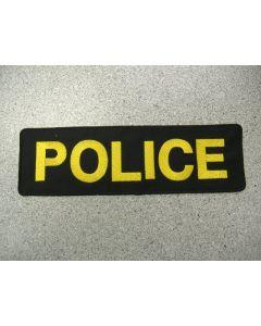 """1511 70 - Police Namebar 13"""" x 4"""""""