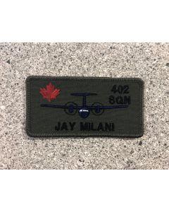 15229-402 Squadron Coloured LVG nametag