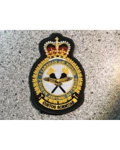 15239 44E - 2 Canadian Air Division Coloured LVG Heraldic Crest (2 CAD)