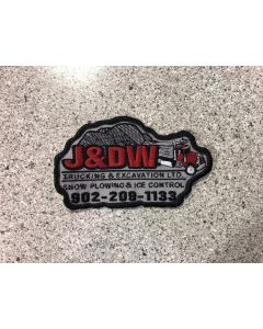 15256-J&DW Trucking Patch