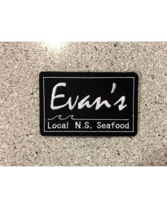 15274-144C-Evan's Nova Scotia  patch on black felt for garments
