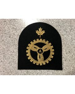 15284-Mae Eng Trade Badge Large on Felt