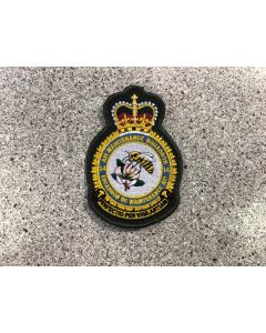 15298 729 A -14 Air Maintenance Squadron (14 AMS) Coloured LVG Heraldic Crest