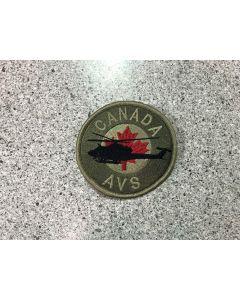 15400-149-C-Canada Griffon Coloured LVG Patch - AVS