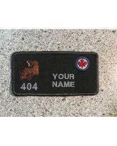 15584 169B - 404 Sqadron Coloured LVG Nametag