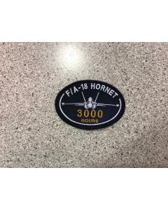15711 177A - F/A -18 Hornet 3000 Hours Patch