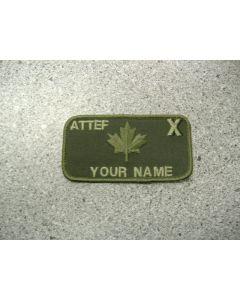 1596 - ATTEF X Nametag LVG