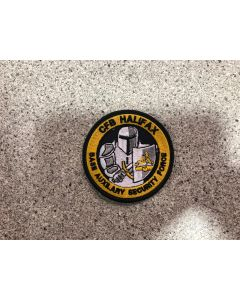 16008 543 E - CFB Halifax Base Auxilary Security Force Patch