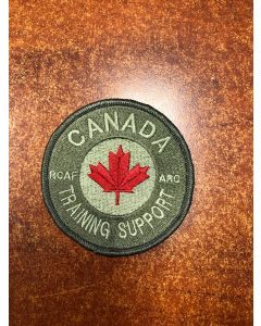 16459 - RCAF Academy - Canada Training Support Coloured LVG Patch