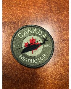16461 699 A - RCAF Academy - Canada Instructor - Cyclone Patch Coloured LVG