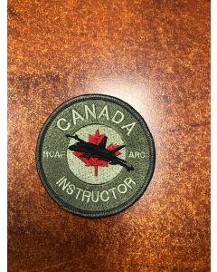 16462 - RCAF Academy - Canada Instructor - Hornet Patch Coloured LVG
