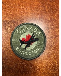 16464 - RCAF Academy - Canada Instructor - Herc Patch Coloured LVG