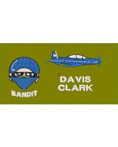 16472 - Bandit Nametag Coloured LVG