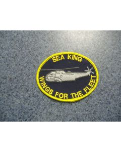 1658 - Sea King - Wings for the Fleet Patch