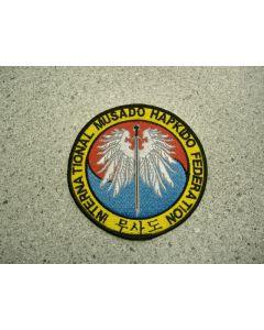 1663 28A - International Musado Hapkido Federation Patch