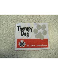 1676 - Therapy Dog - St. John's Ambulance