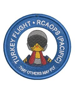 16888 - Turkey Flight - RCAOPS (PACIFIC) That others may fly Patch