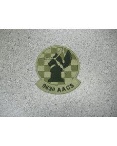 1689 - 963D AACS Patch LVG