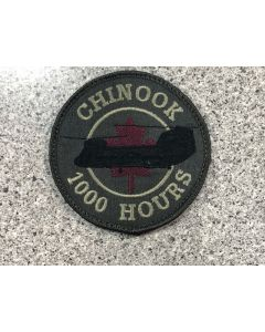 17078 285 F - Chinook 1000 Hours Coloured LVG Patch
