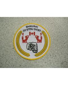 1734 - Samurai Ju-Jitsu Club Patch