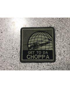 17476 235 A - GET TO DA CHOPPA Patch LVG