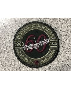 17488 - Canadian C130 Hercules 60th Coloured LVG Patch