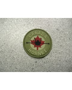 1782 161 A - Canada Hornet Patch LVG with maroon Maple Leaf