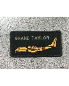 18012 418 Squadron CC-295 Coloured LVG Nametag