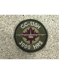 18016 CC-130H 3000 Hours Air-to-Air Refuelling Hercules Coloured LVG Patch