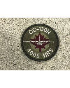 18017 CC-130H 4000 Hours Air-to-Air Refuelling Hercules Coloured LVG Patch
