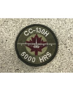 18018 CC-130H 5000 Hours Air-to-Air Refuelling Hercules Coloured LVG Patch