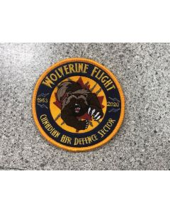 18133 Wolverine Flight - Canadian Air Defence Sector 1953-2020 Patch