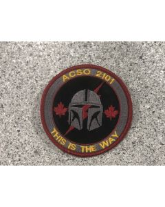 18162 ACSO 2101 This is the way Patch