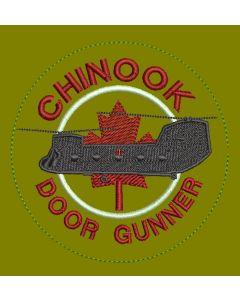 18206 590 B - Chinook Door Gunner Coloured LVG Patch