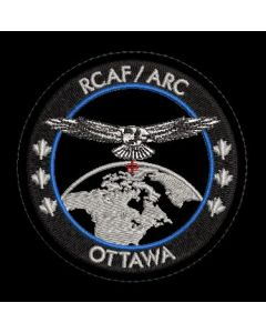 18424 595 H - RCAF/ARC PATCH FOR NAVAL PERSONNEL