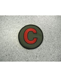 """1852 - The Red """"C"""" Patch"""