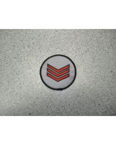 1854 - Sgt Patch - Red
