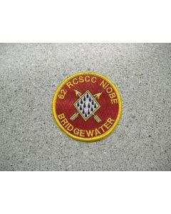 1870 - 62 RCSCC Niobe - Bridgewater Patch