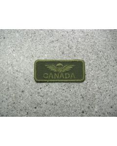 1951 - Canada Airborne Wings Should Patch LVG