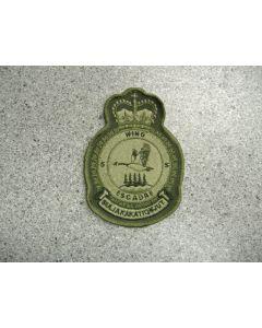 2043 135 D - 5 Wing Heraldic Crest LVG