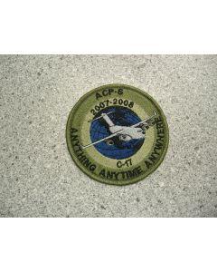 2095 5 - ACP-S 2007-2008 C-17 Patch LVG