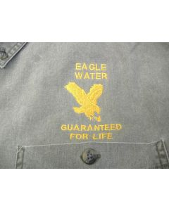 2118 - Eagle Water - Guaranteed for life Logo