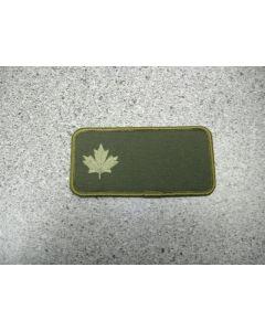 2321 145 A - Maple Leaf Nametag LVG #2