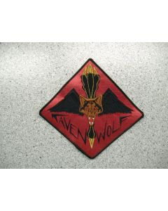 2350 - Raven Wolf Patch Large