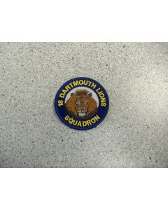 2413 5 - 18 Dartmouth Lions Squadron Patch