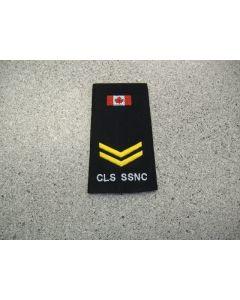 2446 - CLS SSNC Rank slip-on - Corporal